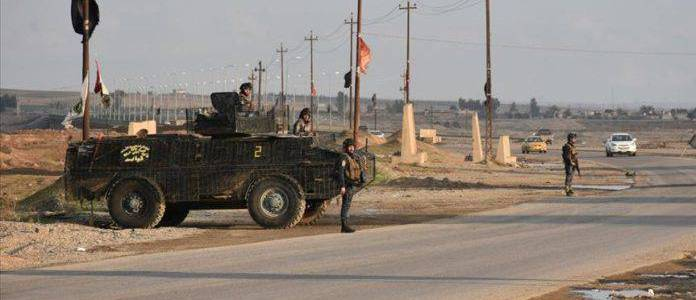 Islamic State terrorists killed two people in eastern Iraq