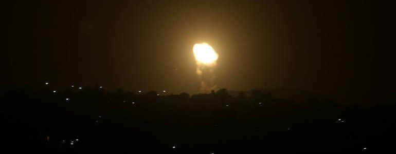 Israeli forces destroyed Hamas internal security headquarters in Gaza in overnight bombing raid