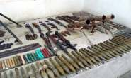 Large amounts of weapons and ammo left behind by Islamic State terrorists found in Homs