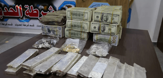 Iraqi security forces discovered Islamic State stash of $1.5 million and precious metals in Mosul