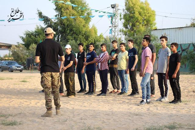 GFATF - LLL - Hamas terrorist group training children and old men for the next war 4