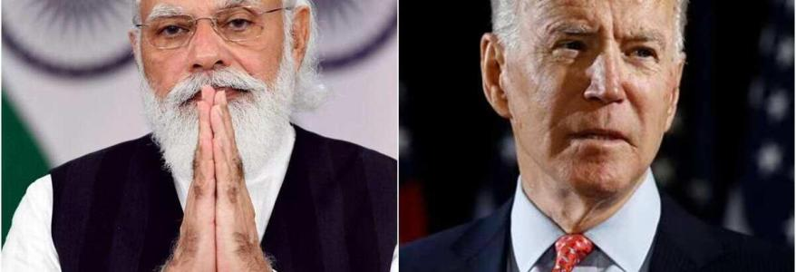Joe Biden and Narendra Modi expected to discuss ways to combat terrorism