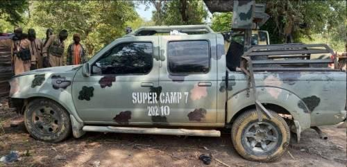 Boko Haram terrorists killed six soldiers and captured military vehicles in Borno