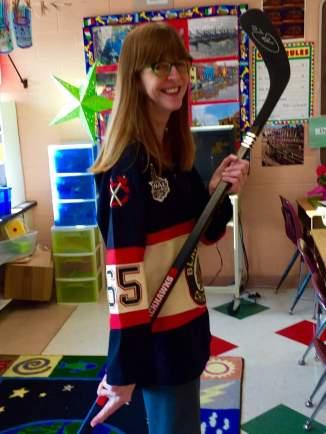 Hockey Classroom