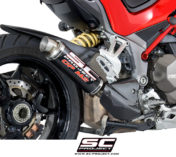 DUCATI MULTISTRADA 1200 ESCAPE SILENCIEUX