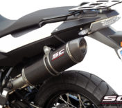 SCARICO BMW F800GS SC-PROJECT OVALE IN CARBONIO