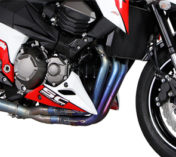 FULL EXHAUST SYSTEM IN TITANIUM KAWASAKI Z800