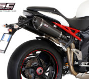 SPEED TRIPLE 1050 TRIUMPH SCARICO CARBON CONIC