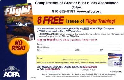 6 Free Issues Flight Training Magazine