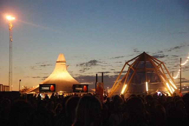 Aftenhimmel over Roskilde