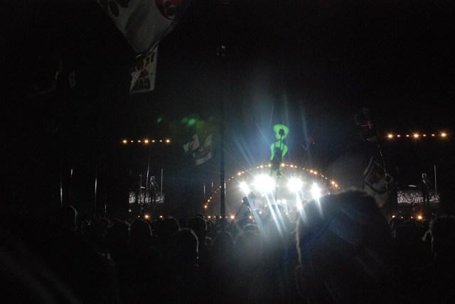 Maskinen Muse står deroppe et sted