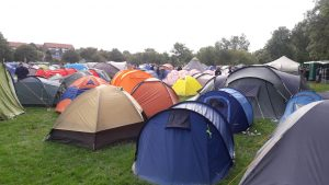 En hyggelig og frem for alt dejligt sval camp