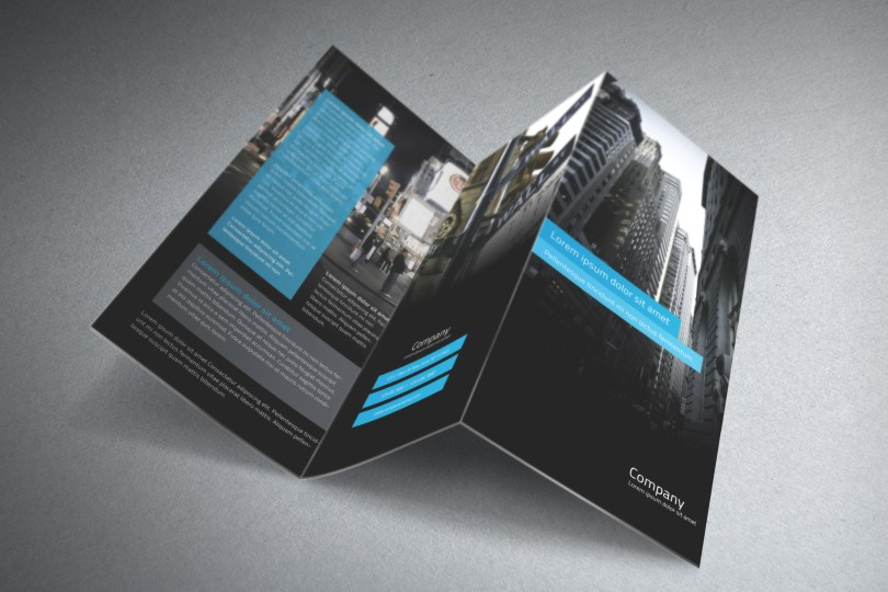 Free tri-fold brochure template psd - Free Graphics