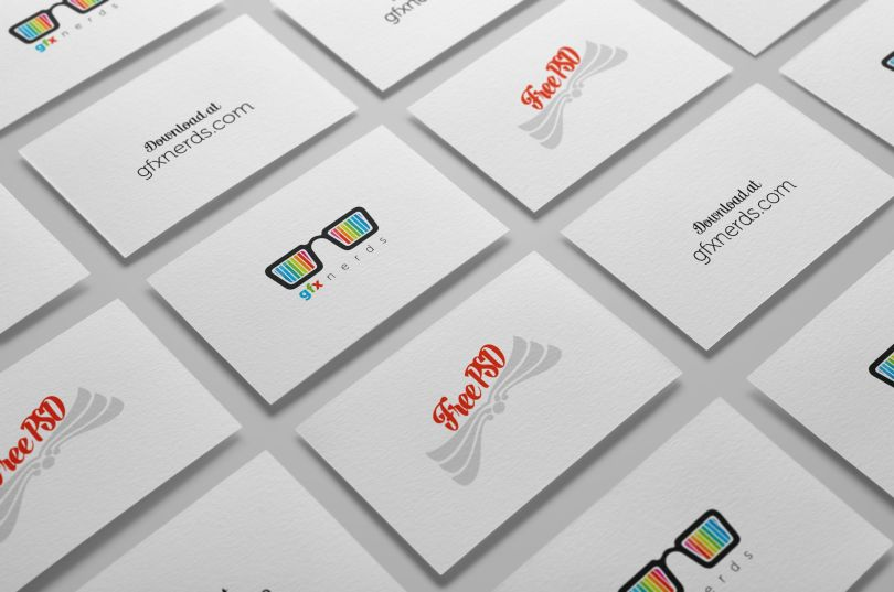 Business cards mockup free psd free graphics business cards mockup free psd reheart Images