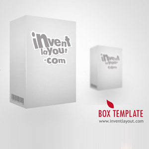 3D Box Template | 3d Box Template Psd Free Graphics