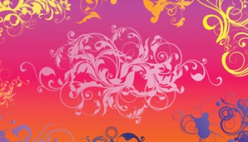 Free Vector Floral Motif - Free Graphics