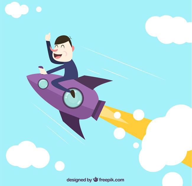 Funny-Startup-Illustration-Vector