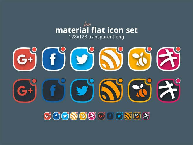 material-design-social-icon