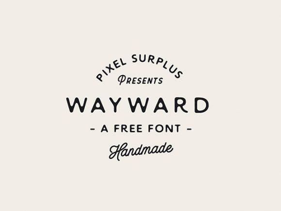 wayward-free-font-580x435