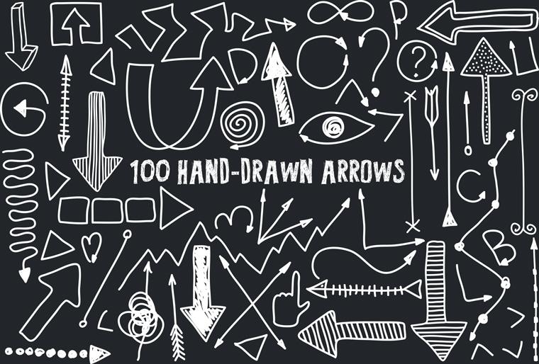 Handrawn_arrows
