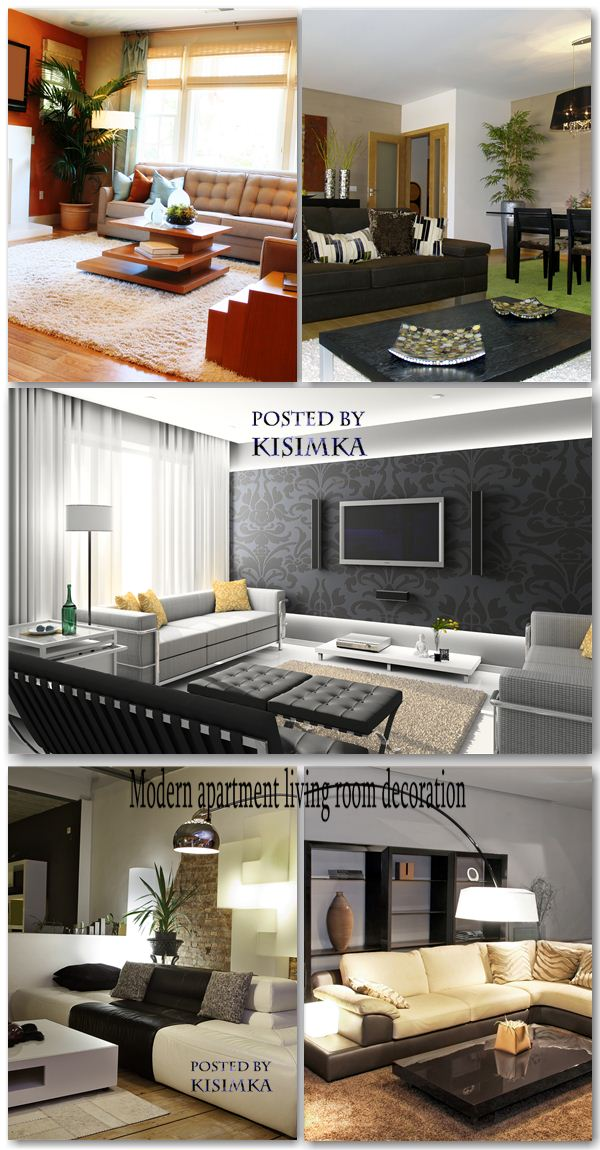1297030589 slide51 صالونات عصرية حديثة   Modern Apartment Living Room Decoration