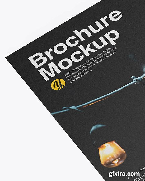 Download Brochure Mockup Template Ai Yellowimages