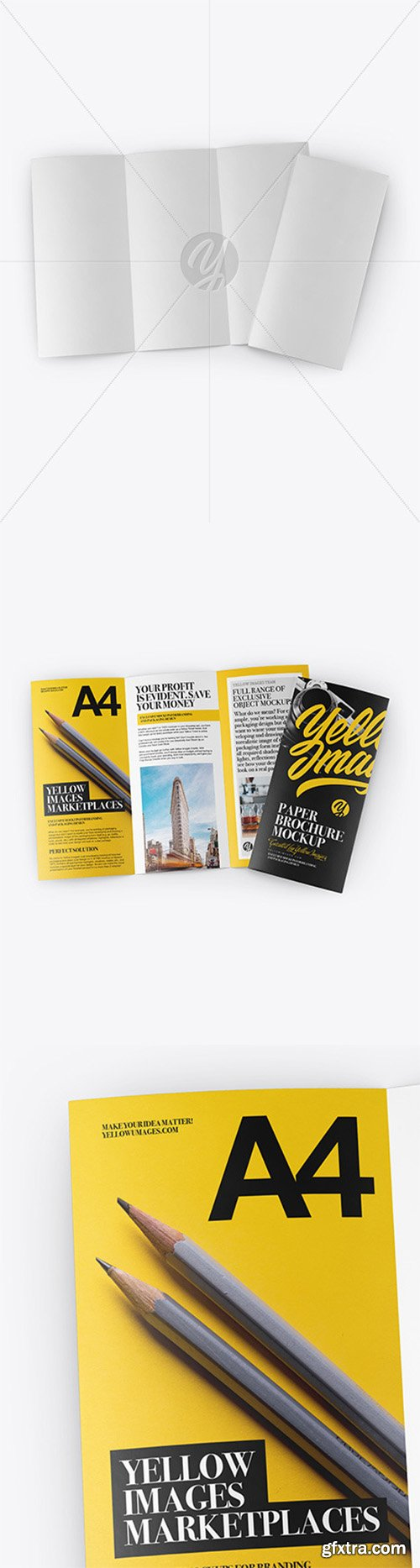 Download A4 Size Flyer Mockup Free Download Yellowimages