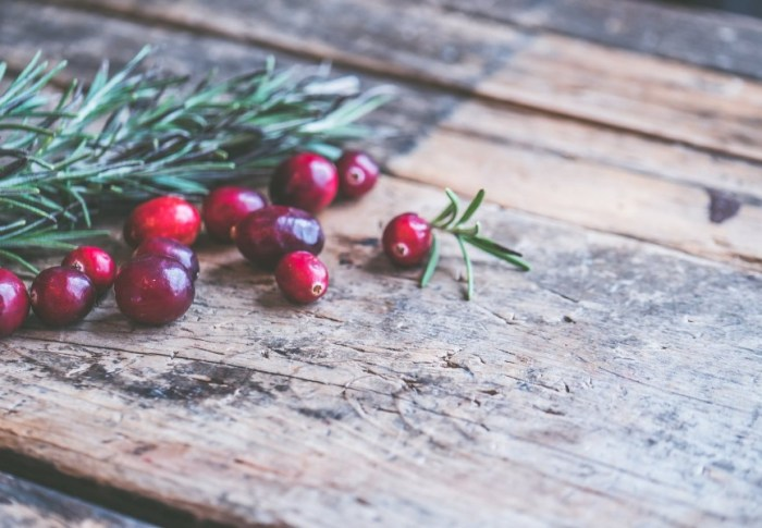 Recepten om je te laten stralen; Cranberry