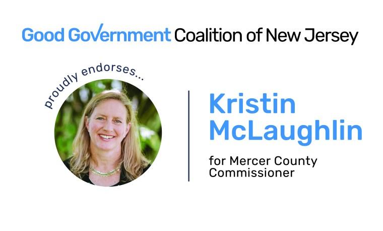 Kristin McLaughlin for Mercer County Commissioner