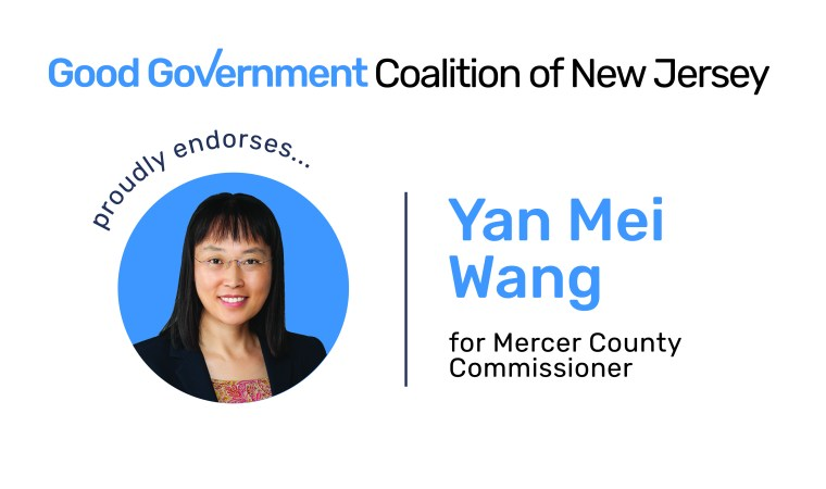 Yan Mei Wang for Mercer County Commissioner