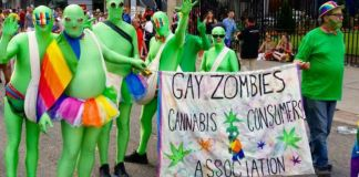 """""""Gay Zombies Cannabis Consumers Association"""""""