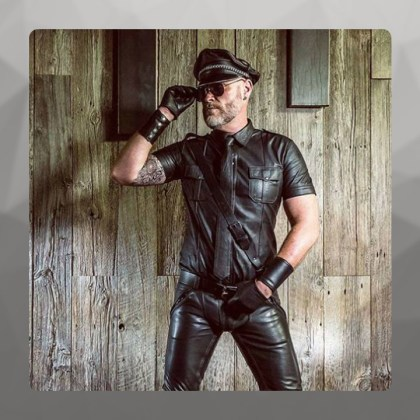 Georges, Mister Leather Belgium 2016