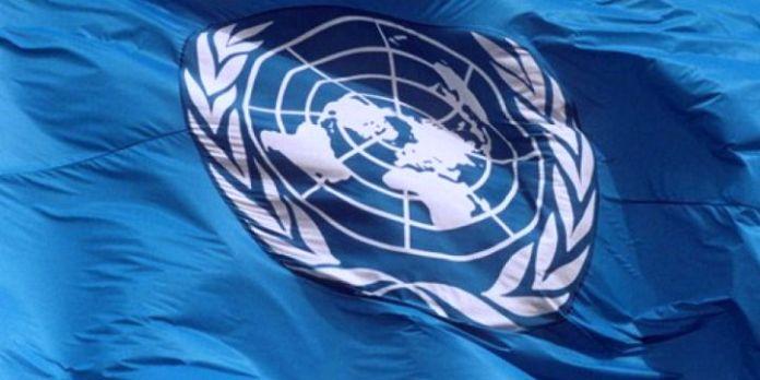UN-Flagge