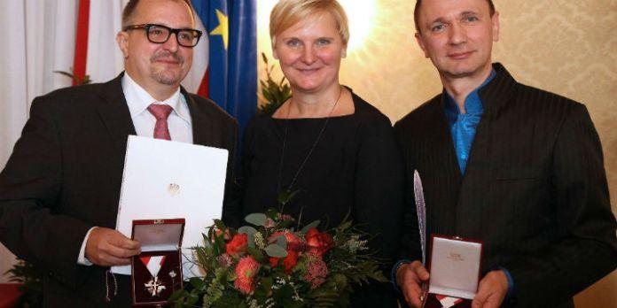 Andreas Brunner, Sandra Frauenberger, Helmut Graupner
