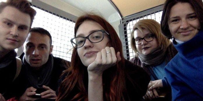 Verhaftung der Aktivisten un Moskau