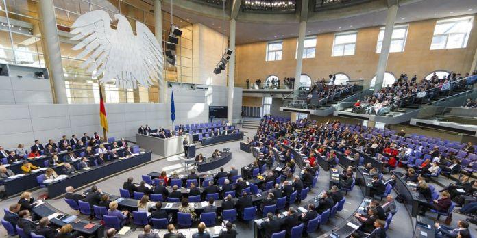 Plenum im Deutschen Bundestag