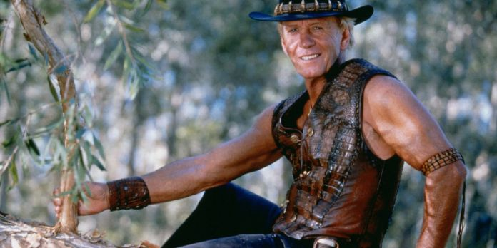 Paul Hogan als Crocodile Dundee