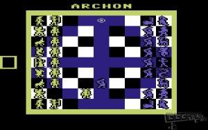 Archon: The Light and The Dark c64 screenshot
