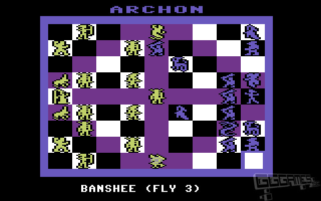 PC Gaming art - Light vs Dark Enamel Pin or Magnet PC retro game art Archon : The Light and the Dark