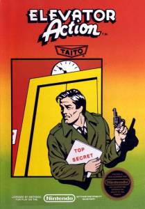 Elevator Action NES box art