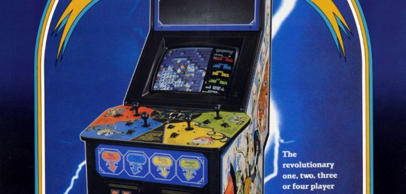 Gauntlet arcade game flyer