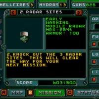 Jungle Strike mega drive screenshot