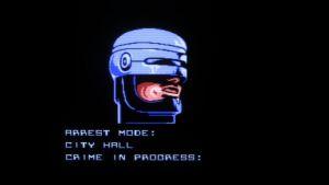 RoboCop NES screenshot