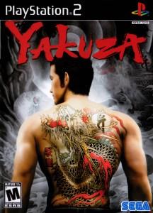 Yakuza ps2 box art