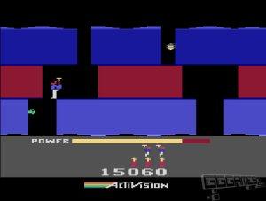 H.E.R.O. atari 2600 screenshot