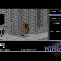 The Last Ninja c64 screenshot