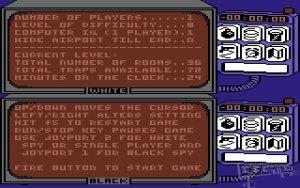 Spy vs. Spy c64 screenshot