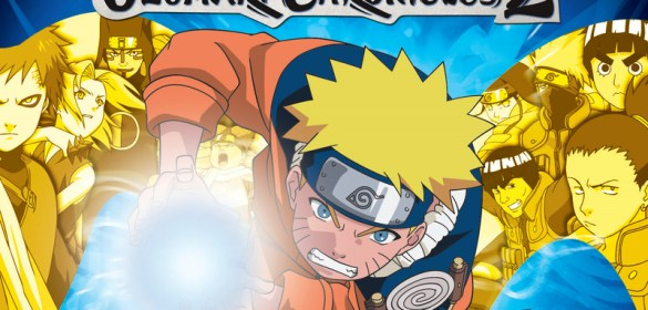 Naruto Uzumaki Chronicles 2 ps2 box art