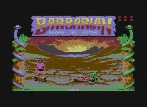 Barbarian: The Ultimate Warrior c64 screenshot