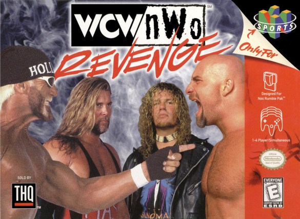 WCW / nWo Revenge screenshot N64 box art